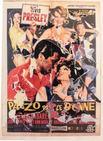 シルクスクリーン Rotella - Pazzo per le donne