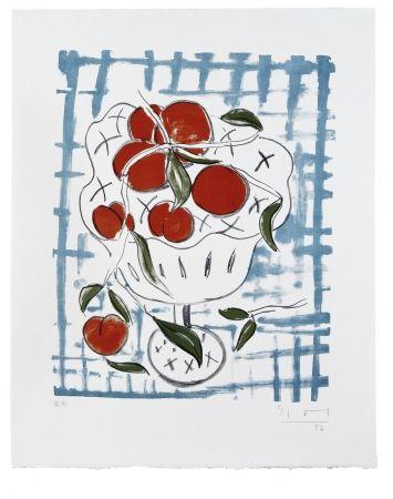 リトグラフ Szczesny - Peach Still Life
