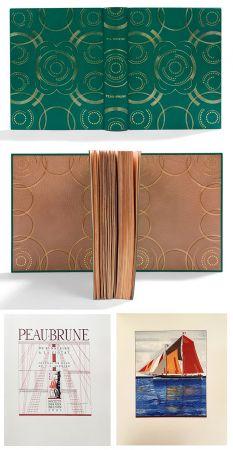 挿絵入り本 Schmied - PEAU-BRUNE. De St-Nazaire à La Ciotat. Journal de bord de F.-L. Schmied. Dans une reliure décorée de Semet et Plumelle.