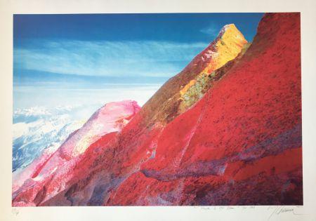 シルクスクリーン Gueranger - Peindre le Mont-Blanc
