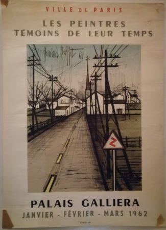 掲示 Buffet - Peintres témoins de leur temps - 1962