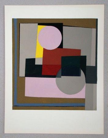 ステンシル Nicholson - Peinture - 1945