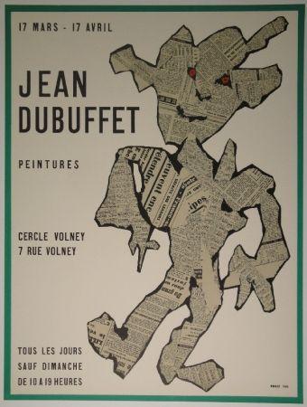リトグラフ Dubuffet - Peintures