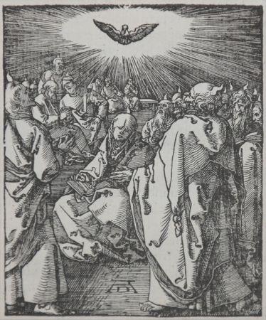 木版 Durer - Pentecost (The Small Passion), 1612