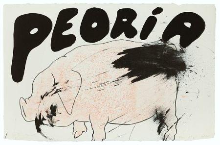 リトグラフ Dine - Peoria