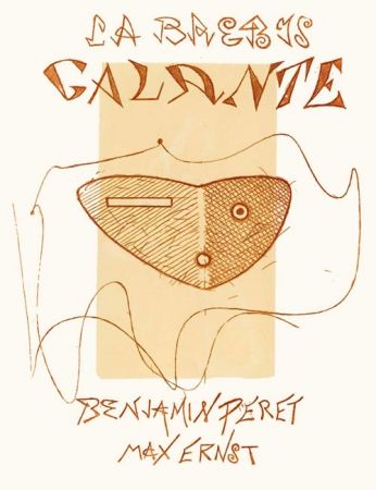 エッチングと アクチアント Ernst - Peret (Benjamin). La Brebis Galante.