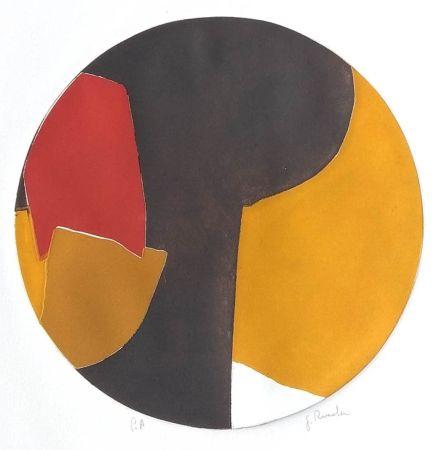 エッチングと アクチアント Rueda - Perfiles, siluetas y Limites III