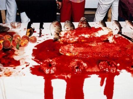 写真 Nitsch - Performance 2003