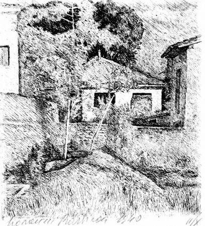 エッチング Barbisan - Periferia