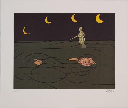 リトグラフ Adami - Petit clair de lune
