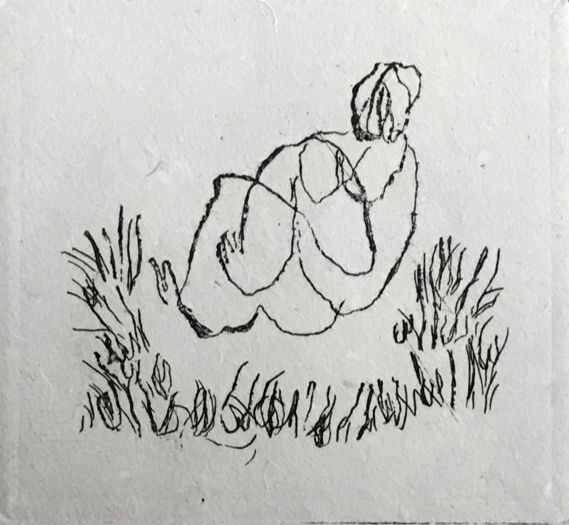 エッチング Fautrier - Petit Nu A