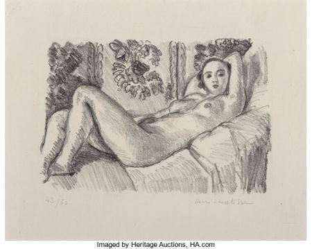 リトグラフ Matisse - Petite Aurore