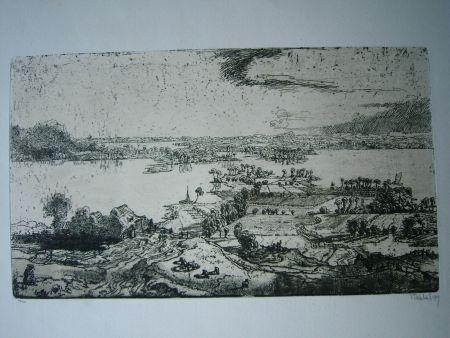 彫版 Nicklas - Phantastische Landschaft