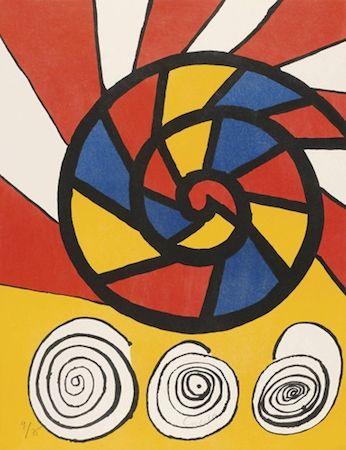 リトグラフ Calder - Phonograph