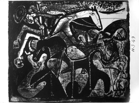 リトグラフ Picasso - Picador