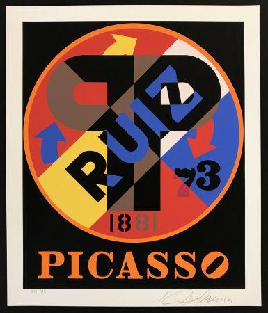シルクスクリーン Indiana - Picasso