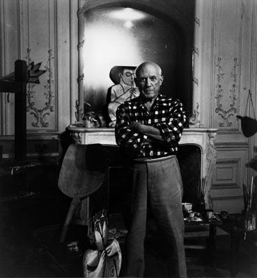 写真 Clergue - Picasso Au Miroir