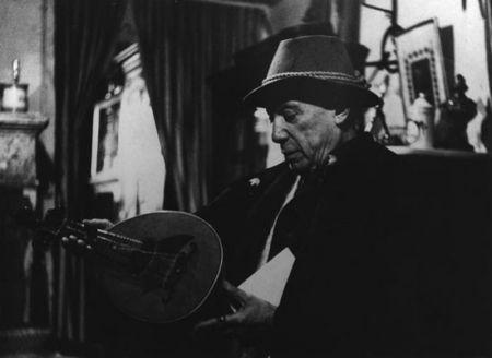 写真 Clergue - Picasso Avec La Mandoline