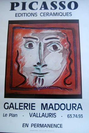 掲示 Picasso - Picasso Editions Ceramiques. Galerie Madoura