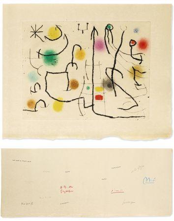 挿絵入り本 Miró - [Picasso, Miro, Giacometti...] -  ILIAZD (Ilya Zdanévitch, dit) HOMMAGE À ROGER LACOURIÈRE.