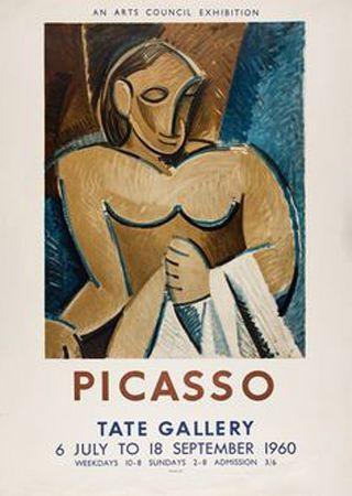 リトグラフ Picasso - Picasso Tate Gallery 1960