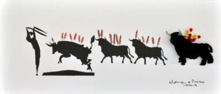 多数の Leirner - Picasso Toros-1