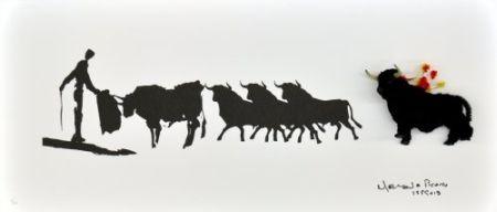 多数の Leirner - Picasso Toros-2