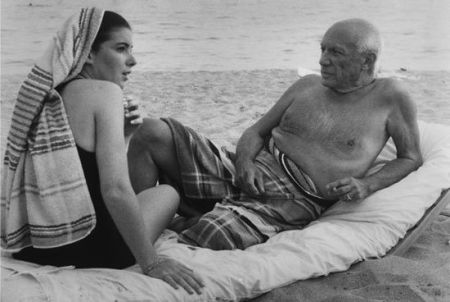 写真 Clergue - Picasso Y Cathy