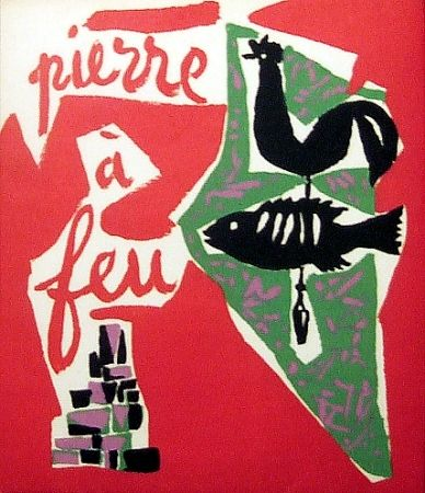 挿絵入り本 Marchand - Pierre à feu. Provence noire