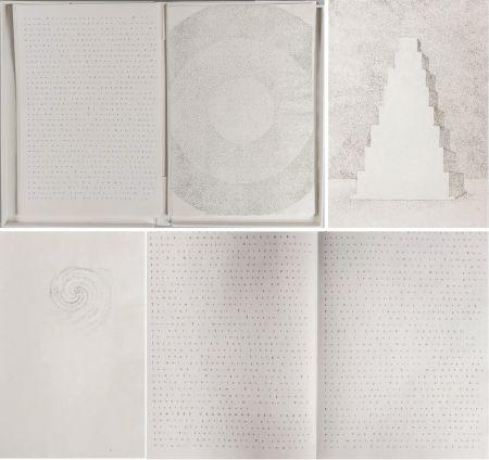 挿絵入り本 Pagava - Pierre Lecuire : POÈMES MÉTAPHYSIQUES. 7 pointes sèches de Véra Pagava (1979) (1975)
