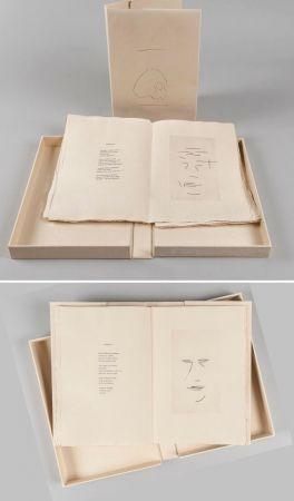 挿絵入り本 Aguayo  - Pierre Lecuire : SONNETS FUNÈBRES. 12 gravures de Femin Aguayo (1975)