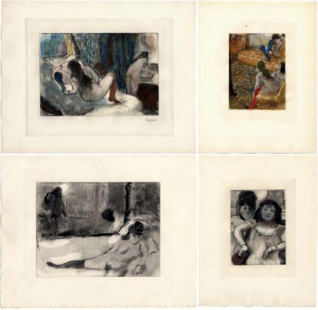 挿絵入り本 Degas - Pierre Louys : MIMES DES COURTISANES (Vollard, Paris 1935)