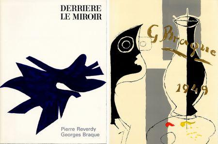 挿絵入り本 Braque - PIERRE REVERDY, GEORGES BRAQUE. DERRIÈRE LE MIROIR n° 135-136. Déc.1962-Janv.1963.