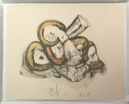 リトグラフ Oldenburg - Pile of Erasers