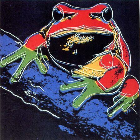 シルクスクリーン Warhol - Pine Barrens Tree Frog (FS II.294)