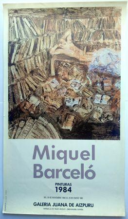 掲示 Barcelo - Pinturas 1984