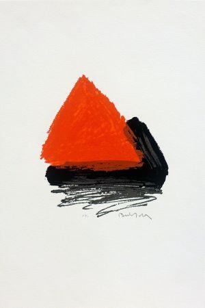 シルクスクリーン Bechtold - Pirámide 1