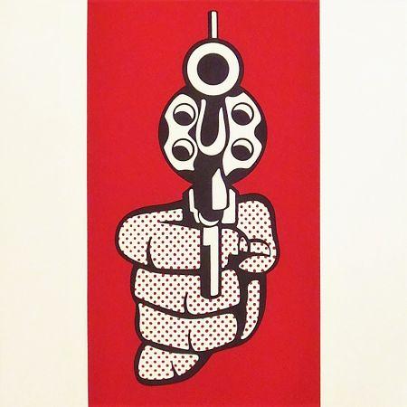 シルクスクリーン Lichtenstein - Pistol