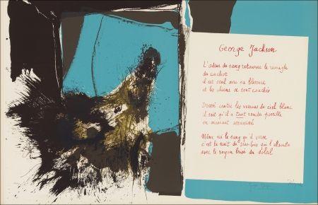 リトグラフ Rebeyrolle - Placard Dupin