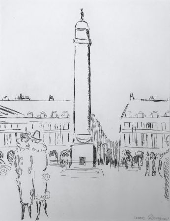 彫版 Van Dongen - Place Vendome