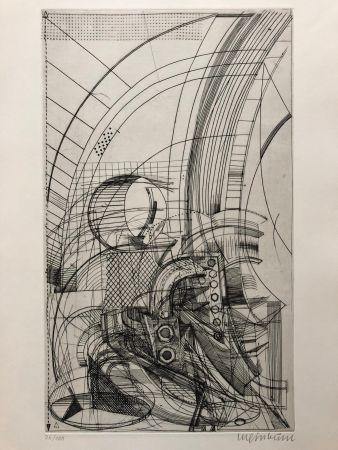 彫版 Luginbühl - Plan für Pegasus