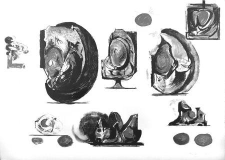 リトグラフ Sutherland - Planches d'études