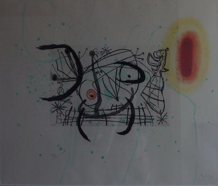 彫版 Miró - Plate 11