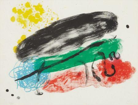 リトグラフ Miró - Plate 16, from Album 19