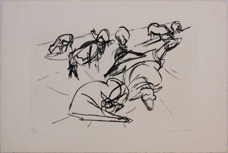 アクチアント Villon - Plate X from 'Hesiode, Les Travaux et les Jours' portfolio