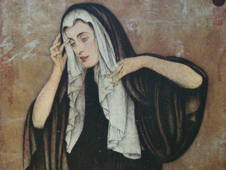 彫版 Sauer - Pleureuse