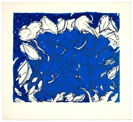 リトグラフ Wyckaert - Plutôt bleu
