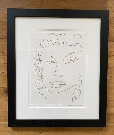 リトグラフ Matisse - Poesies Antillaises - Number J.1