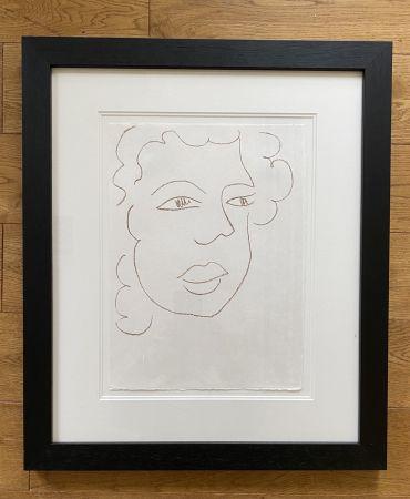 リトグラフ Matisse - Poesies Antillaises - Number J.7