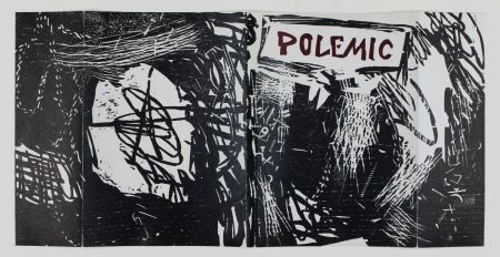 木版 Lichtenstein - Polemic